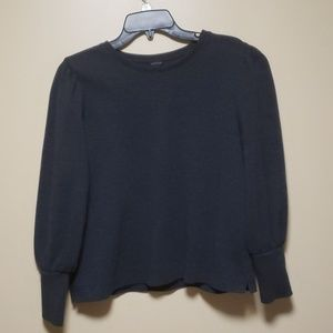 Ann Taylor long sleeve shirt with puff sleeves